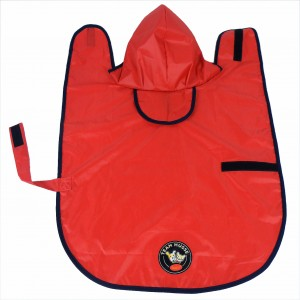 Rain coat with team husse logo: 35 cm